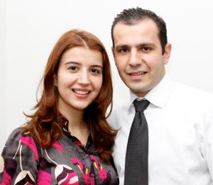 Dr. Stella and George Sahakyans