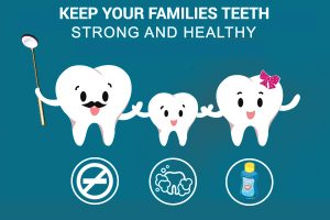 Strong and Healthy Teeth in the Family
