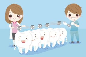 tooth straightening
