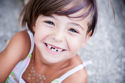 child's permanent tooth