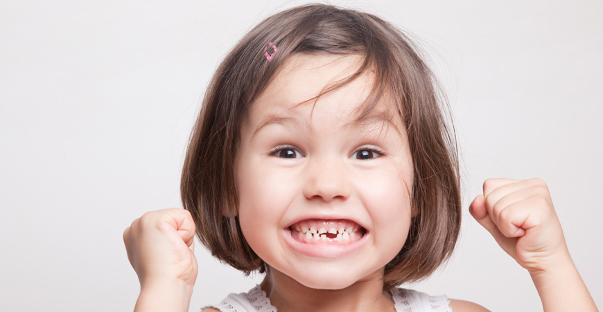 first aid for children's teeth